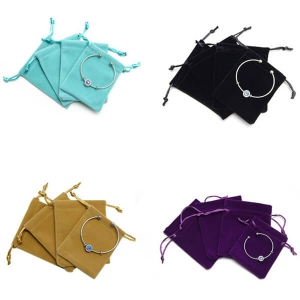 Suede Gift Pouches