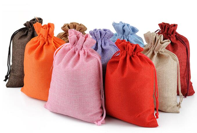 custom burlap bags