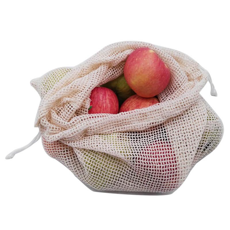 cotton mesh fruit bags