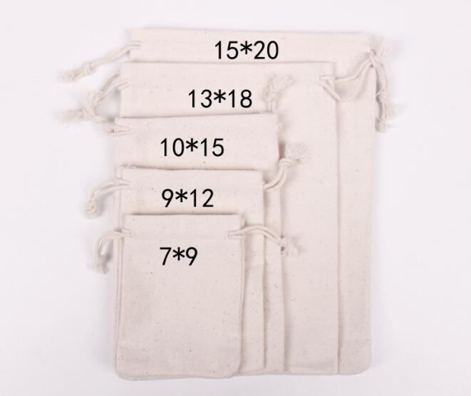 cotton jewelry bags