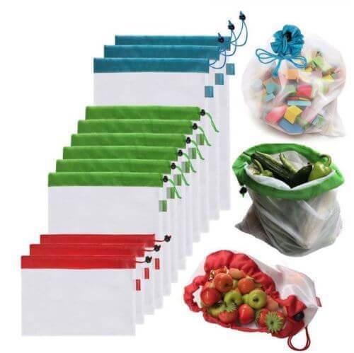mesh fruit bag set