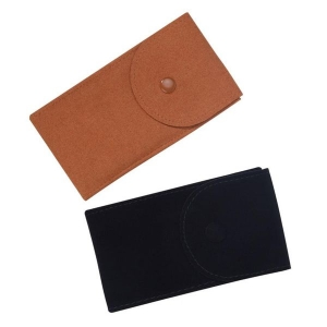 suede watch pouches