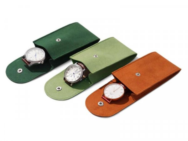 microfiber watch pouch