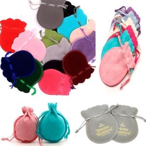 Medium bell shape jewelry pouches