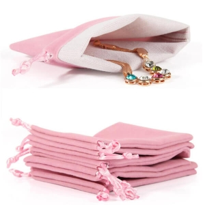 Suede Jewelry Pouches