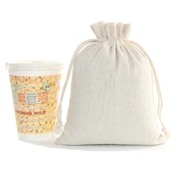 cotton drawstring pouch