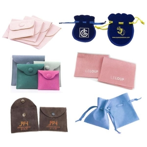 jewelry pouches with logo