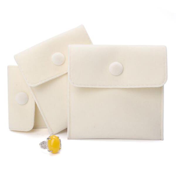 Snap Fastener Jewelry Bag