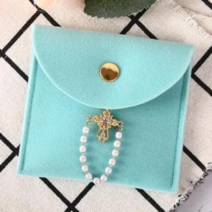 Velvet Pouches for Pearls