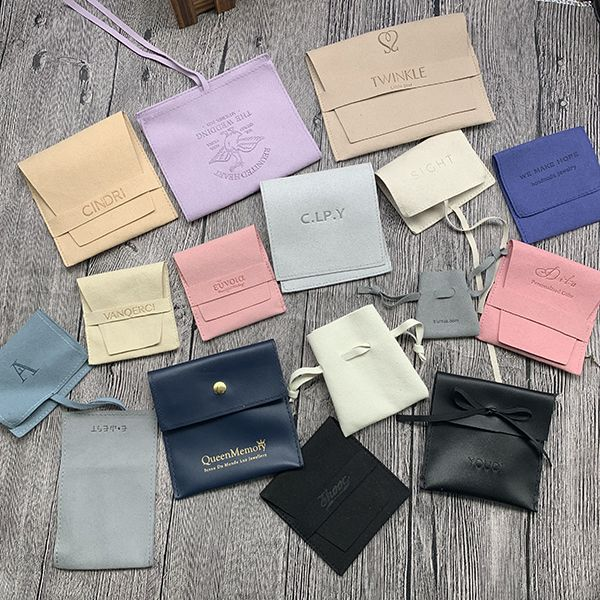 Microfiber Pouches with Logo